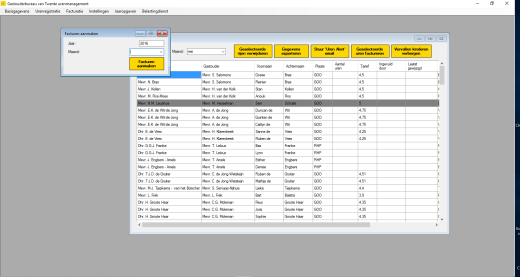 crm systeem in Excel